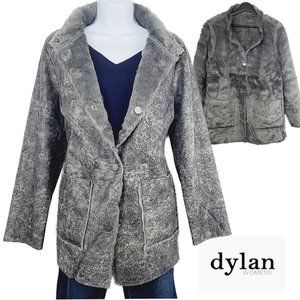 NWT Dylan Reversible Soft Faux Leather/Fur Coat